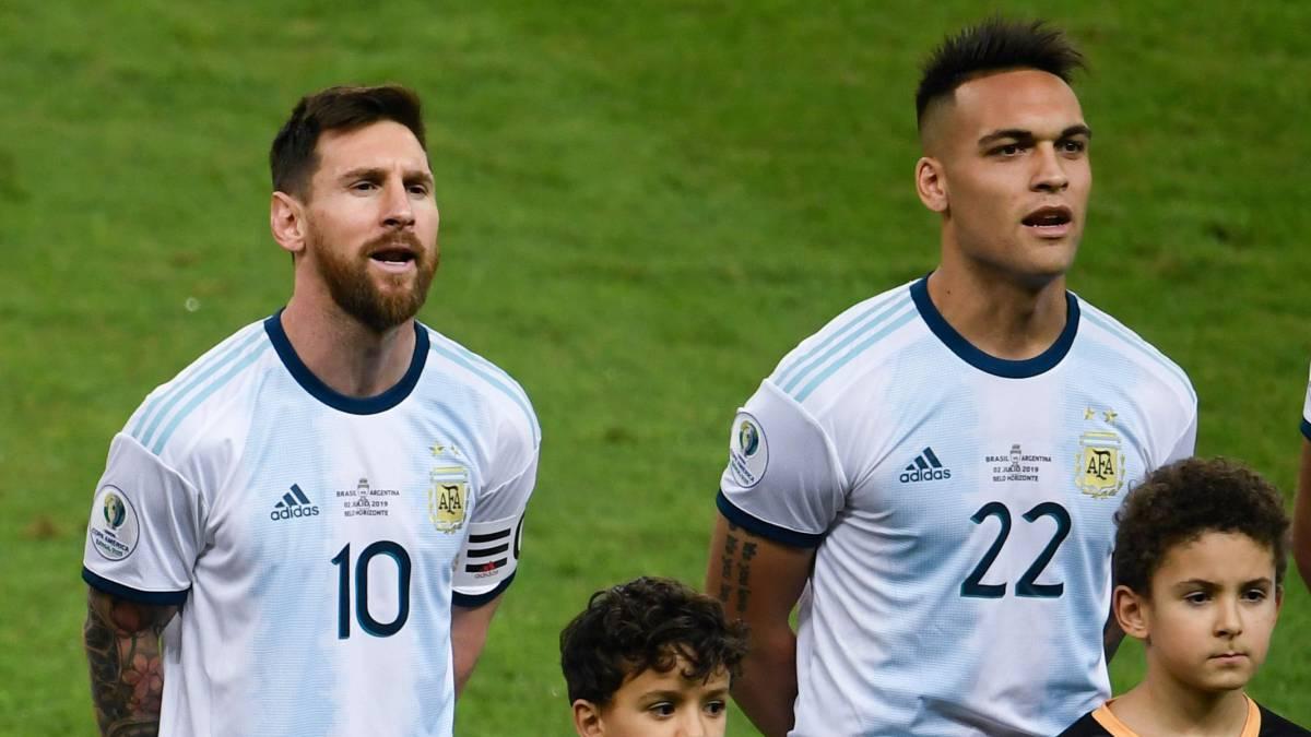 Lautaro Martínez corona a Messi como el mejor jugador del mundo y señaló que trata de aprender de él