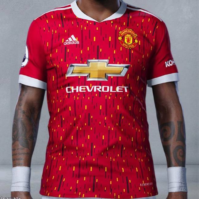 filtran la nueva camiseta del united y los fans alucinan as com filtran la nueva camiseta del united y