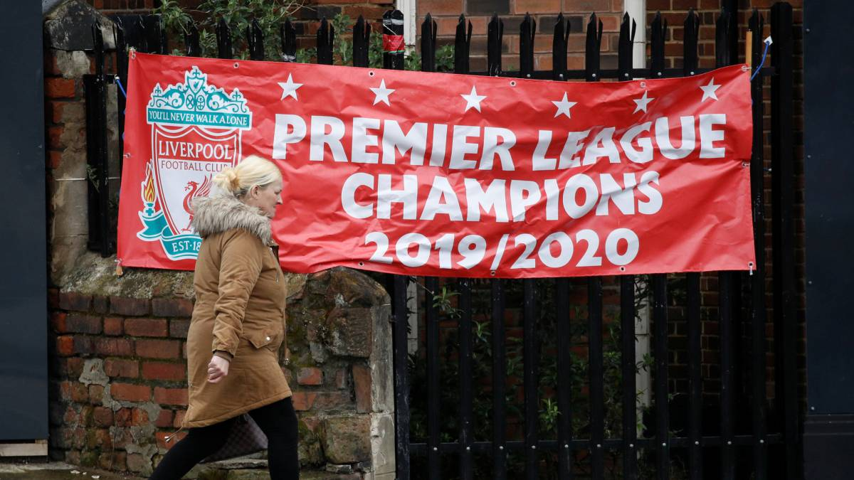 n/úmero 5, 4, 3, Incluye Bolsa de Regalo Premier League Football 2019-2020 Bal/ón de f/útbol