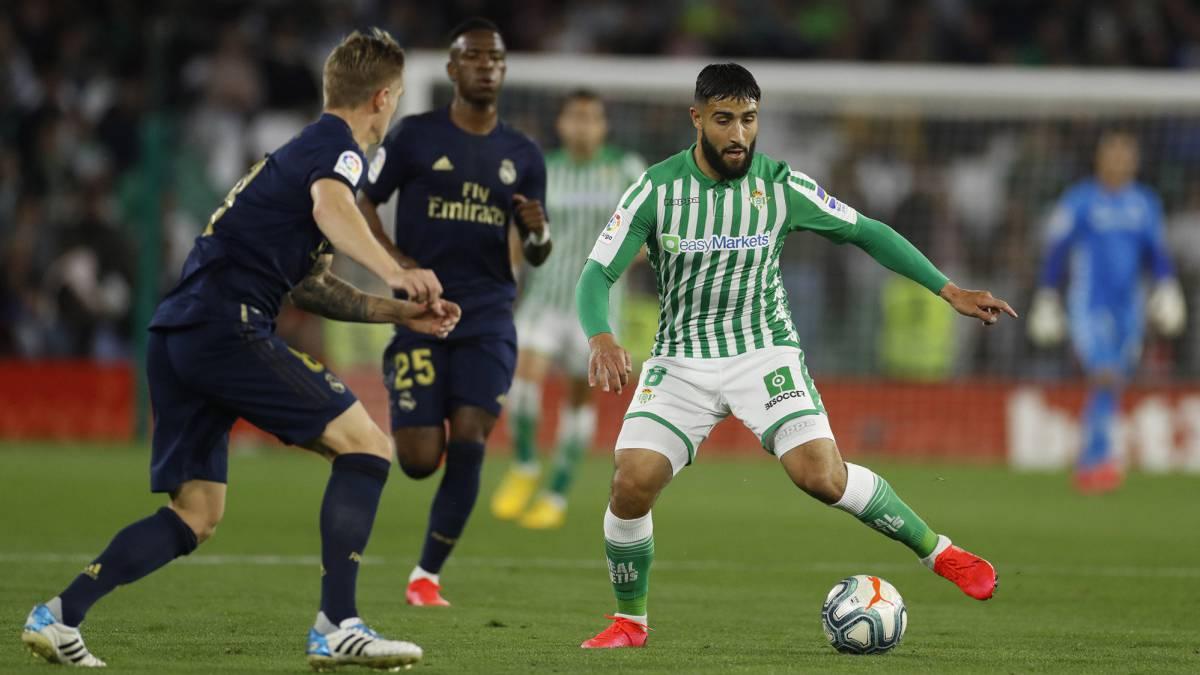 Betis: El Milán apunta a Nabil Fekir - AS.com