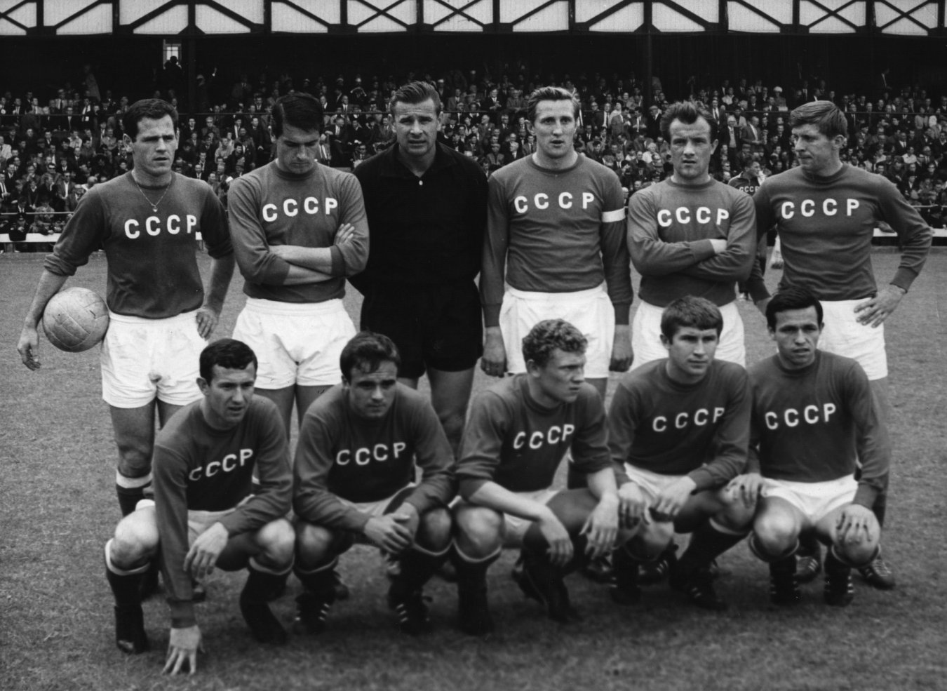 Selección URSS Unión Soviética mundial 1966