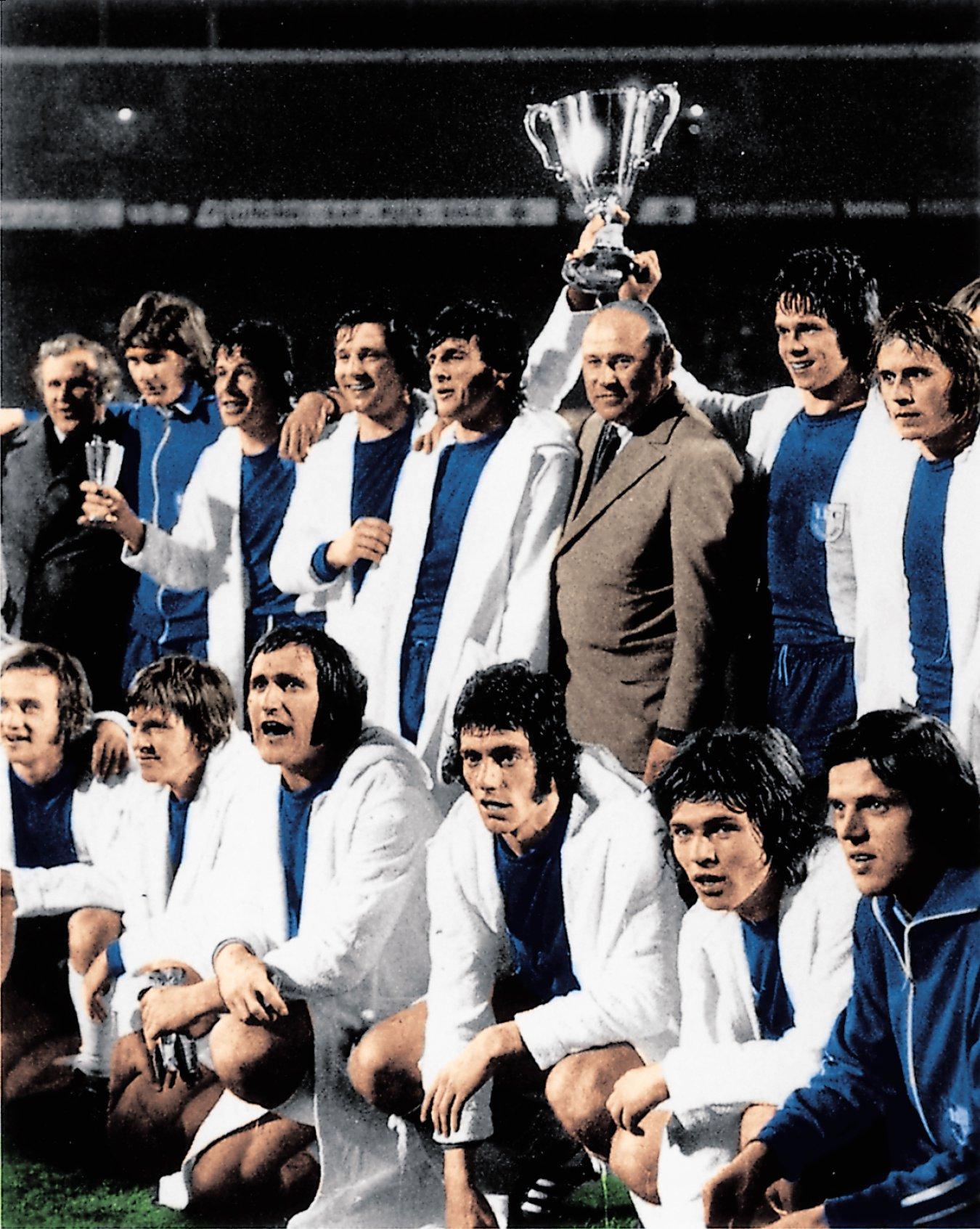 Magdeburgo campeón Recopa 1974 vs AC Milan
