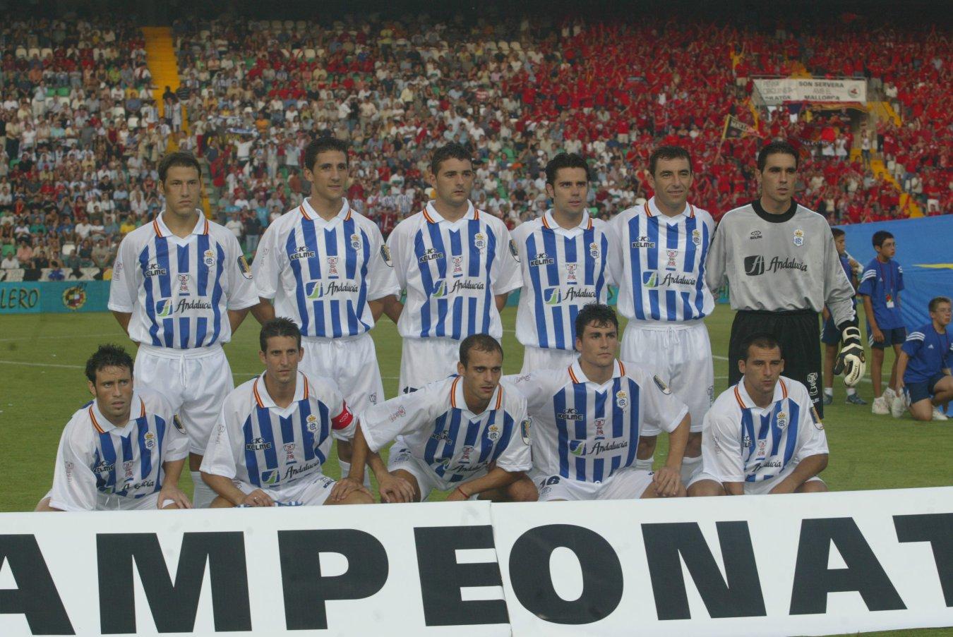 Recreativo de Huelva final Copa del Rey 2003