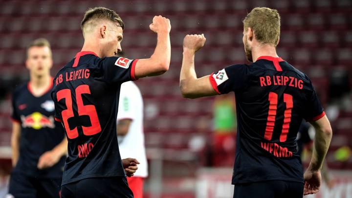 Colonia 2 - Leipzig 4: resumen, goles y resultado - AS.com