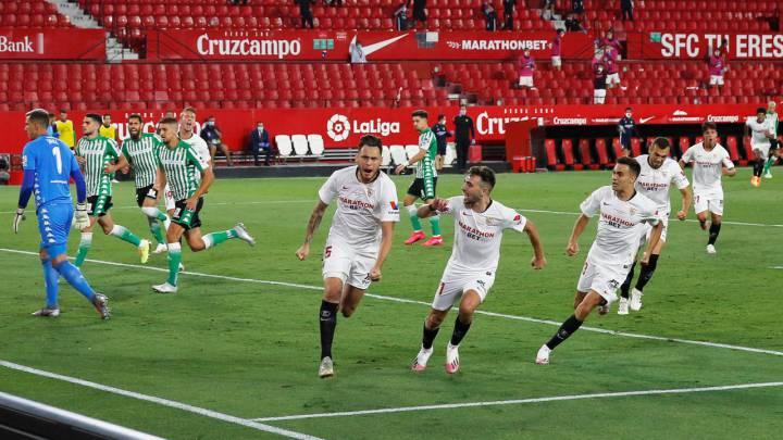 Sevilla 2 - Betis 0: resultado, resumen y goles. LaLiga Santander ...