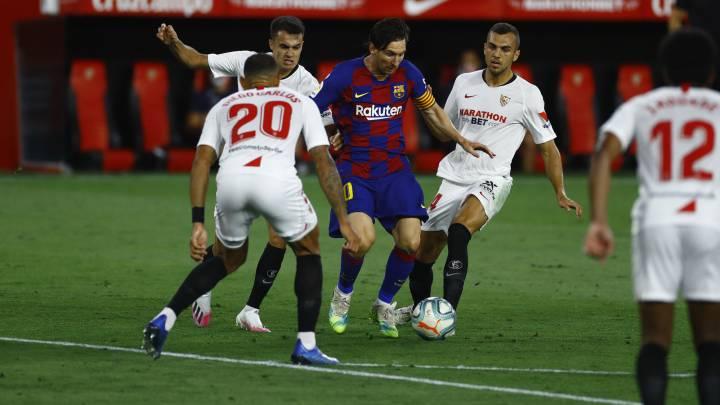 Sevilla 0 0 Barcelona Resumen Y Resultado Del Partido As Com