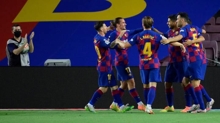 Barcelona 1 Espanyol 0 Resumen Resultado Y Goles As Com