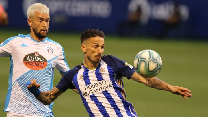 Ponferradina 0 - Lugo 1: resumen, goles y resultado - AS.com