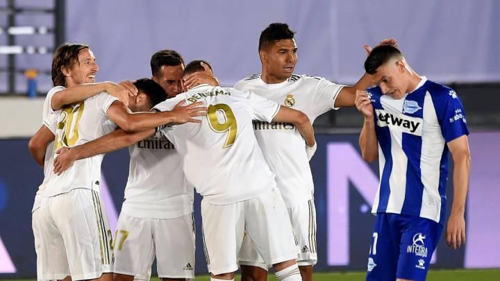 Real Madrid 2-0 Alavés: resumen, goles y resultado del partido ...