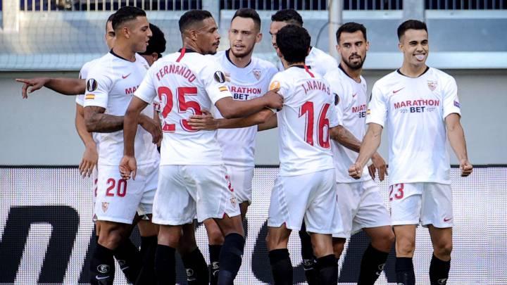 Sevilla 2 - 0 Roma: resumen, resultado y goles | Europa League - AS.com
