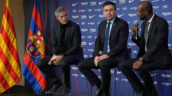 Barcelona   Oficial: Setién, destituido como entrenador del Barça - AS.com