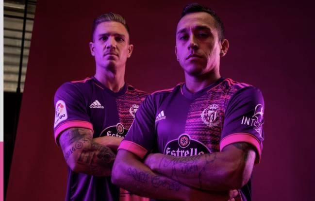 leninismo Rancio transferir  REAL VALLADOLID El violeta vuelve a la nueva equipación del Real Valladolid  - AS.com