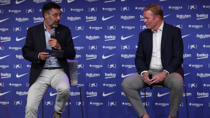 Ronald Koeman habla sobre el arresto de Bartomeu y menciona su futuro con Barcelona