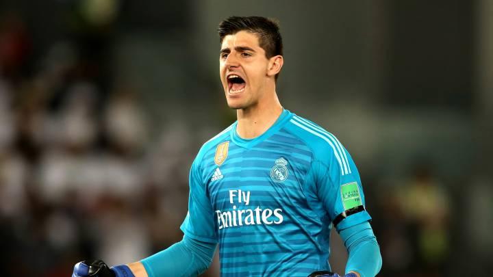 """Real Madrid: Courtois: """"Espero hacer historia con el número 1, como Casillas"""" - AS.com"""