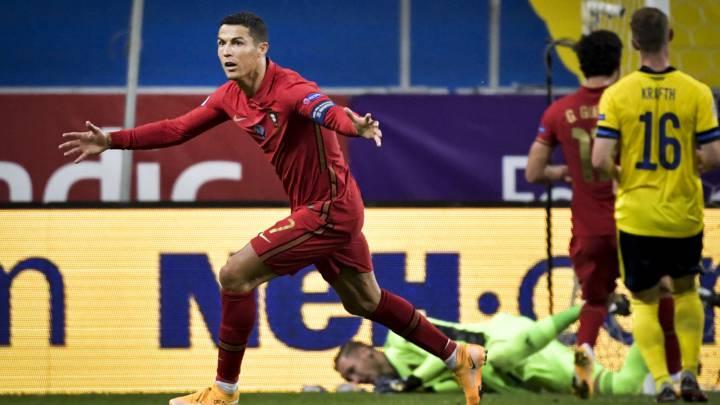 Suecia 0-2 Portugal: resumen, resultado y goles | Nations League - AS.com