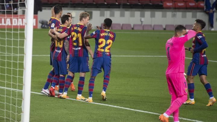Barcelona 4 Villarreal 0 Resumen Resultado Y Goles Laliga Santander As Com