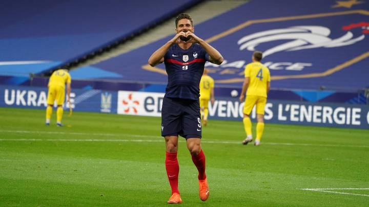 Resumen, resultado y goles del Francia 7 - Ucrania 1: amistoso - AS.com