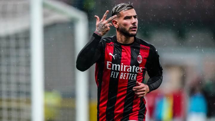 """Con Theo Hernández, el Milán vuela"""" - AS.com"""