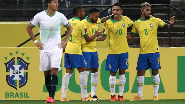 Brasil 5-0 Bolivia: goles, resumen y resultado - AS.com