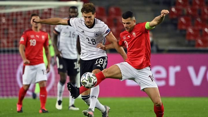 Alemania - Suiza en directo: Nations League, en vivo - AS.com