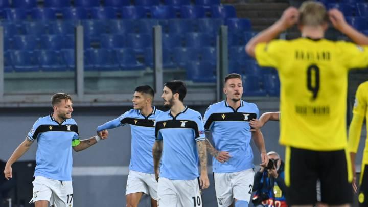 Lazio 3-1 B. Dortmund: resumen, goles y resultado del partido - AS.com