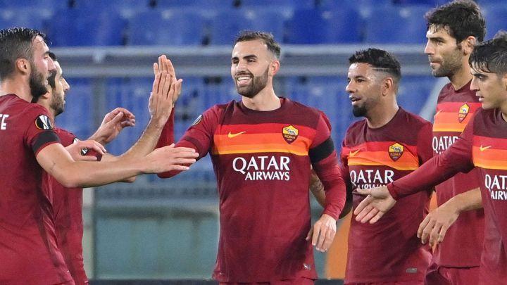 Roma 5-Cluj 0 | La Roma golea con un doblete de Mayoral y un tanto de Pedro  - AS.com
