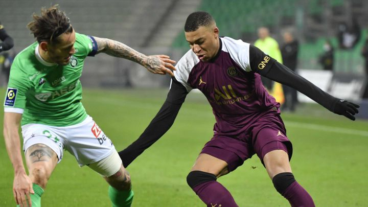 Saint Étienne 1 - PSG 1: resumen y goles del partido   Ligue 1 - AS.com