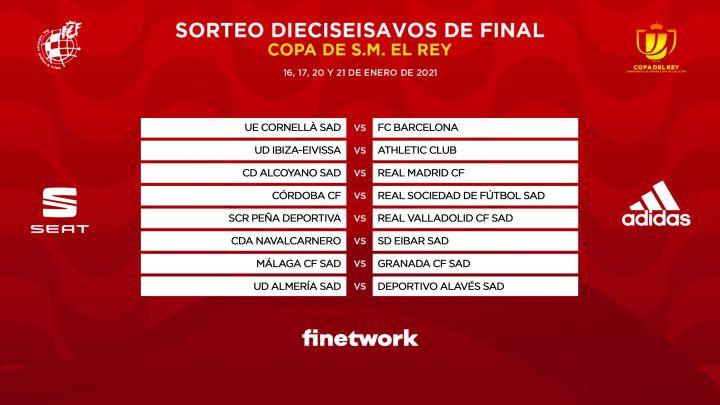 Sorteo Copa Del Rey Sorteo Copa Del Rey Alcoyano Madrid Y Cornellà Barcelona En Dieciseisavos As Com