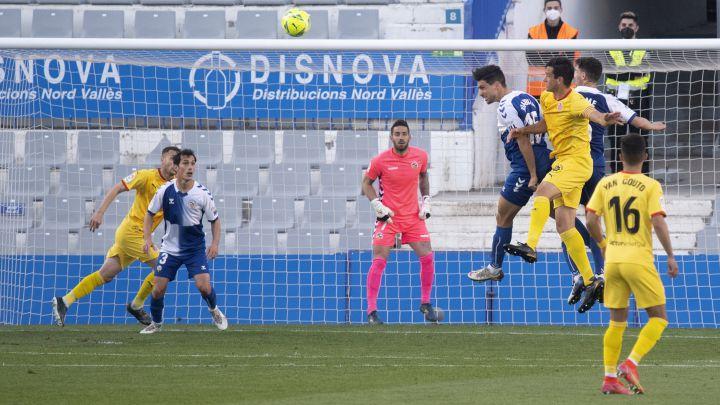 Resumen y goles del Sabadell 2 - Girona 2; LaLiga SmartBank - AS.com