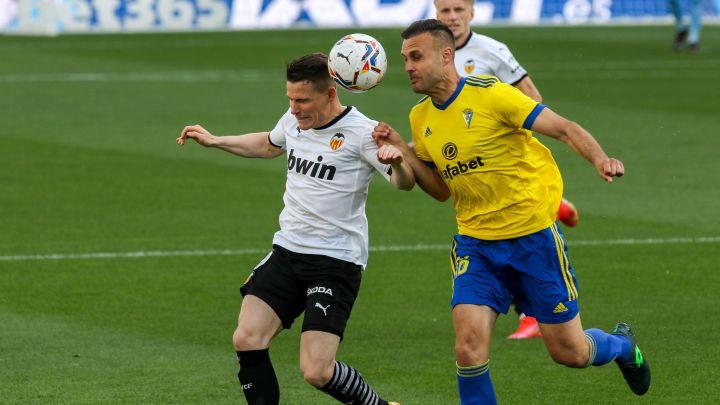 Cádiz 2-1 Valencia: resumen, goles y resultado del partido - AS.com