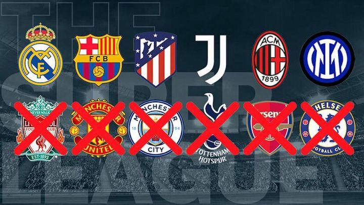 Superliga europea: última hora de los equipos inscritos, jugadores y  renuncias en directo | UEFA y FIFA - AS.com
