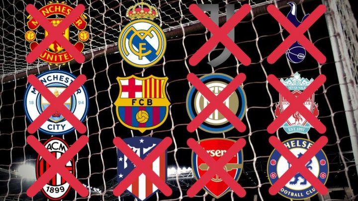 Superliga europea: noticias sobre los equipos inscritos, jugadores y  renuncias | 21 de abril - AS.com