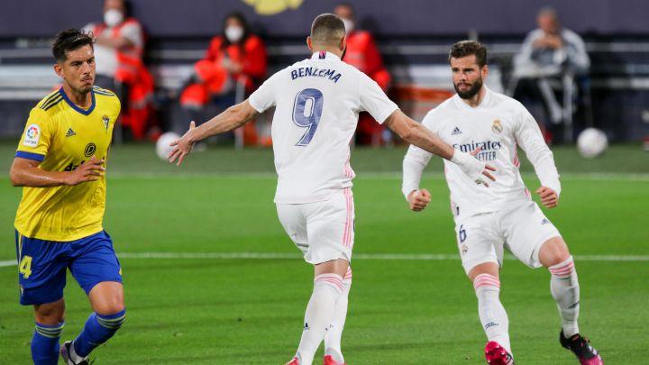 Real Madrid recupera el liderato con triunfo ante Cádiz, Karim Benzema marcó un doblete y dio una asistencia