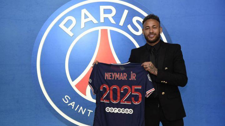 Neymar renueva con el PSG - AS.com