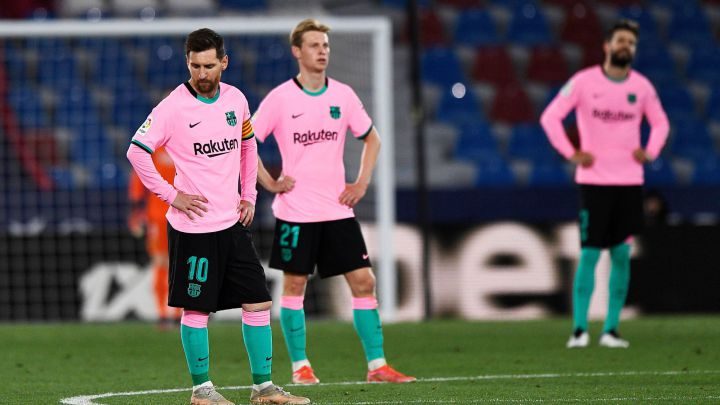 Levante 3 - Barcelona 3: resumen, resultado y goles. LaLiga Santander -  AS.com