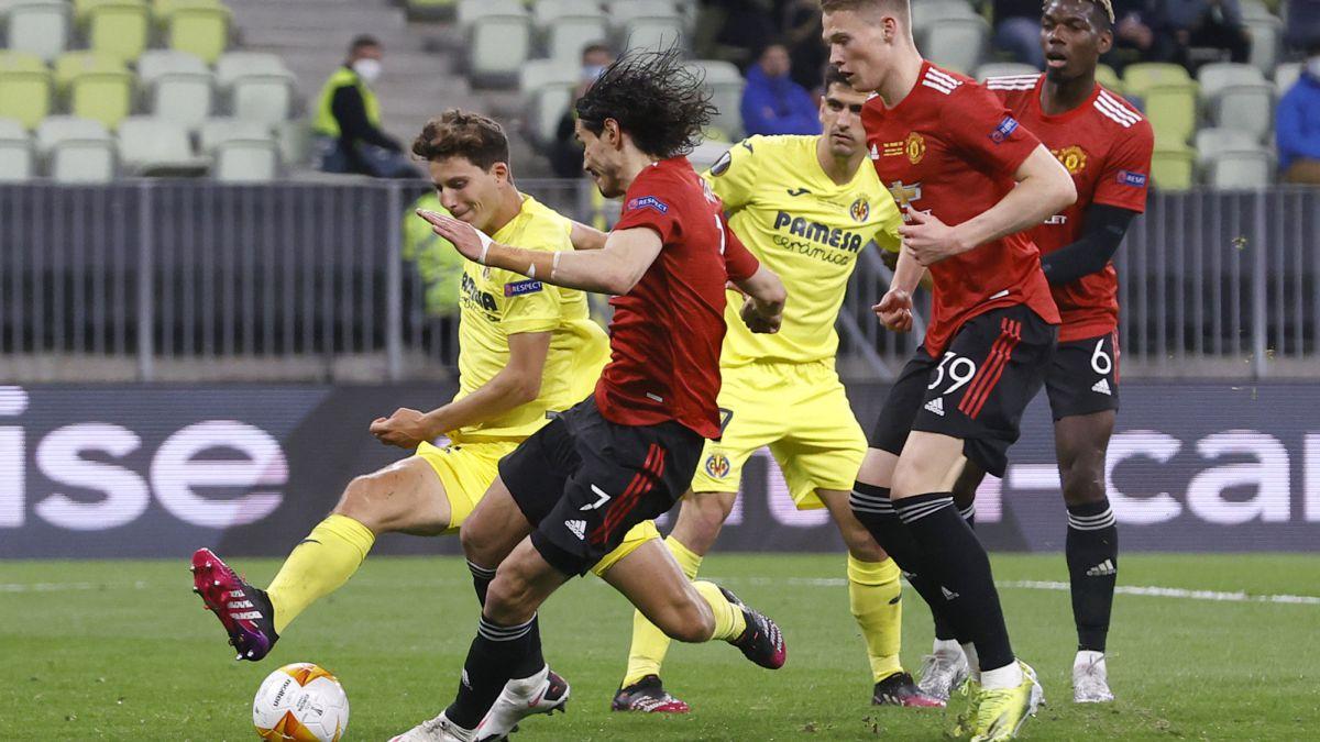 Resumen y goles del Villarreal vs. Manchester United de la Europa League - AS.com