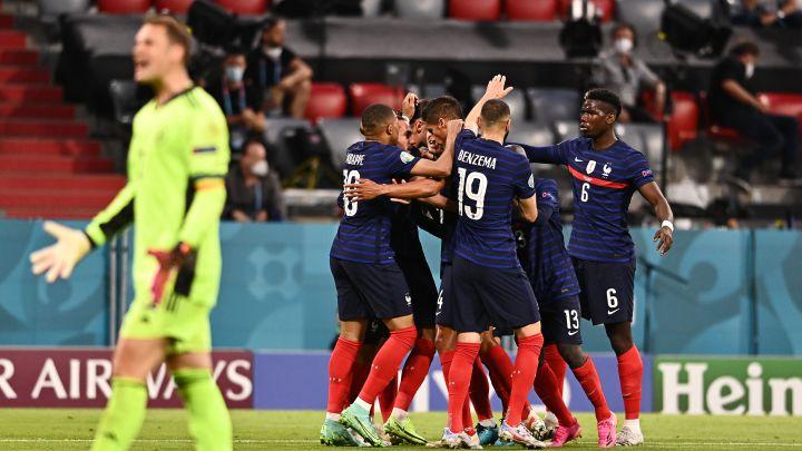 Francia 1 - Alemania 0: resumen, resultado y goles. Eurocopa 2020 - AS.com