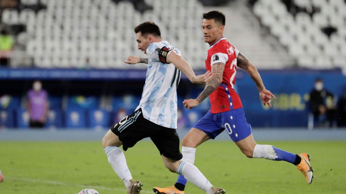 Resumen Y Goles Del Argentina Vs Chile De La Copa América As Com