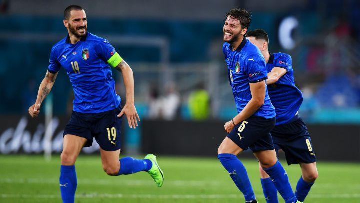 Italia golea a Suiza y clasifica a los octavos de final de la Eurocopa