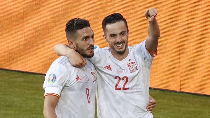 España golea a Eslovaquia y avanza a octavos como segundo lugar; enfrentará a Croacia