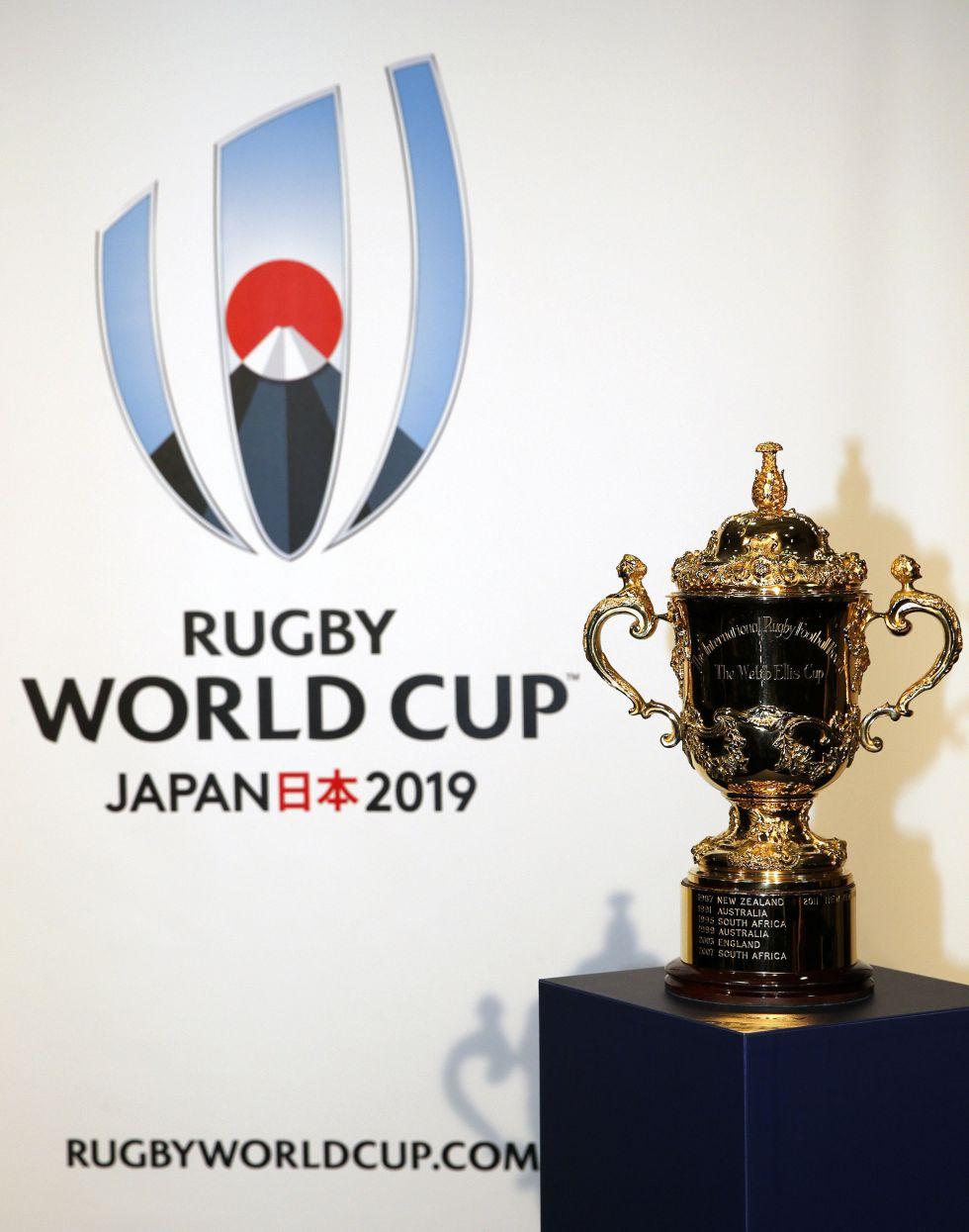 Calendario Mundial Rugby Japon 2019.Rugby Copa Del Mundo 2019 Japon Presenta El Logo Y Las