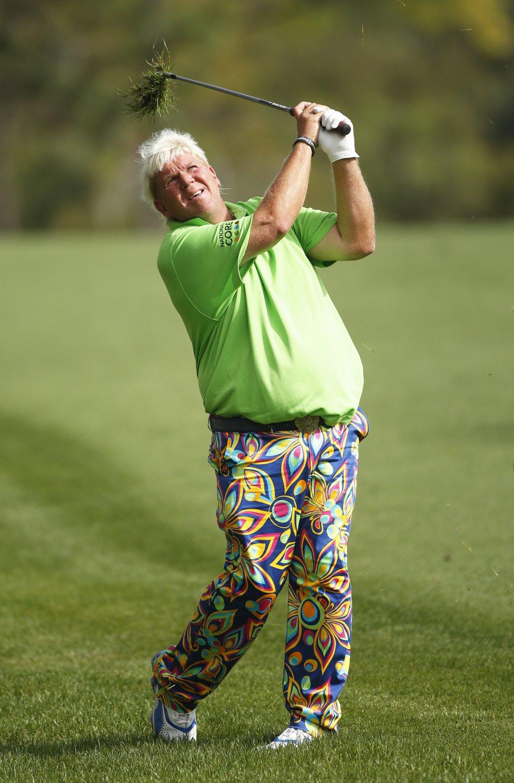 Golf El Golfista John Daly Y Sus Extravagantes Pantalones As Com
