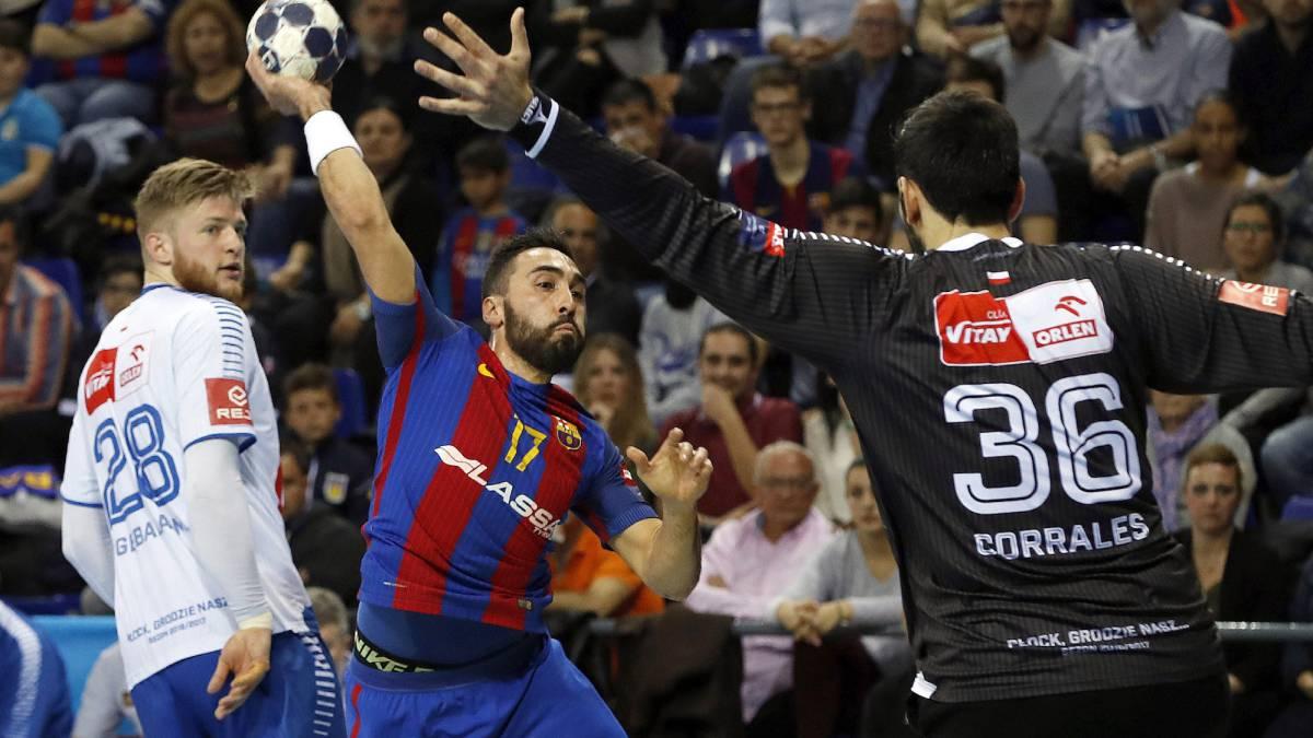 Balonmano Triunfo del Barça con pase a cuartos de final de ...