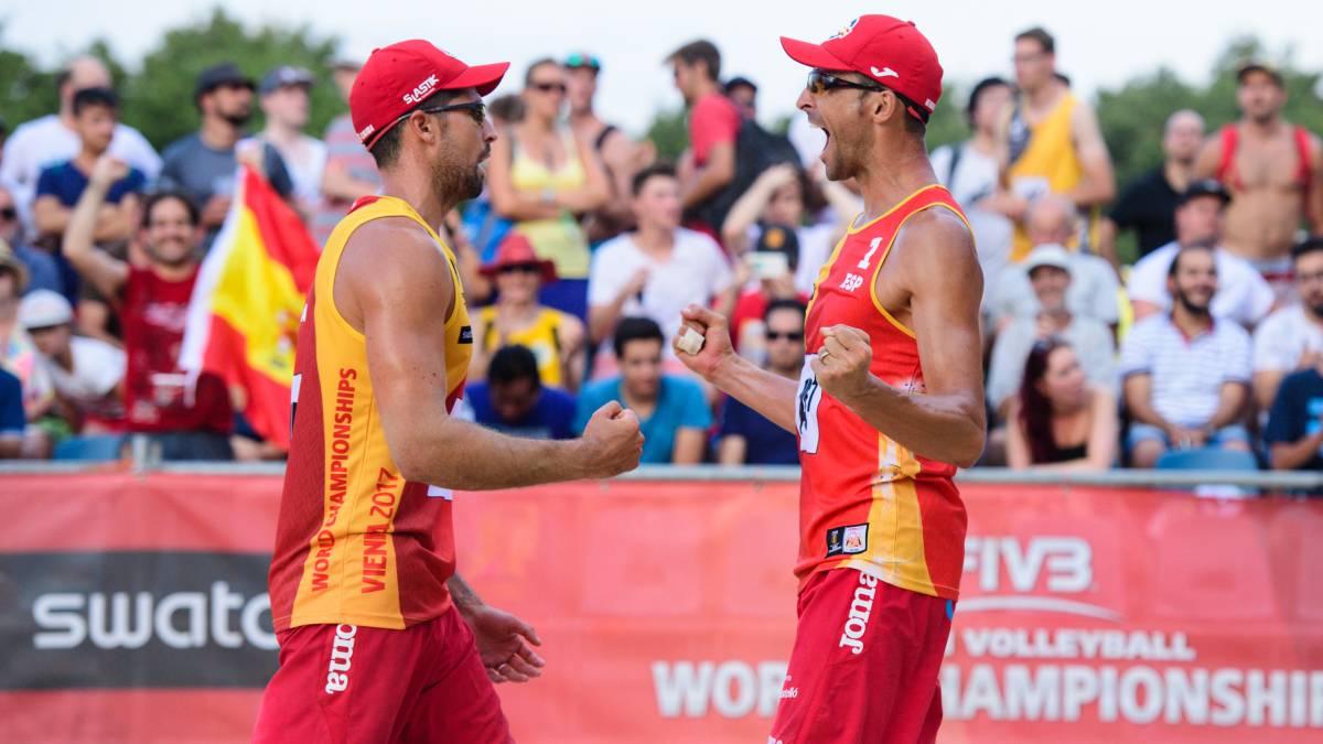 Pablo Herrera y Adrián Gavira se clasifican para octavos de final - AS.com