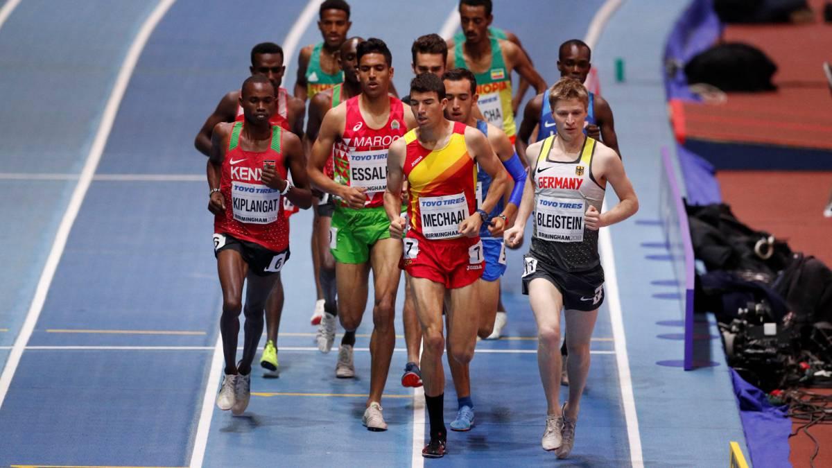 newest 6a8e8 81683 Atletismo  Mechaal, quinto, se queda sin medalla en una partida táctica -  AS.com