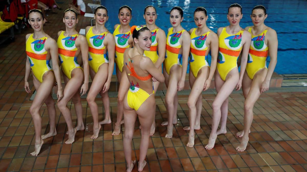 c2a167957b4a La Chica de As: La sincronizada estrena sus bañadores Ruiz de la ...