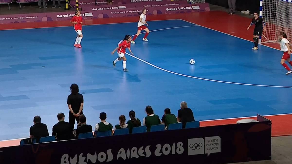 Fútbol sala en los Juegos Olímpicos de la Juventud España golea en ...