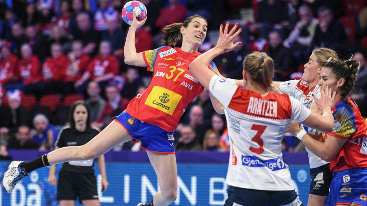 Calendario Europeo Balonmano 2020.Resumen Del Espana Noruega En Directo 26 33 Las Guerreras Se