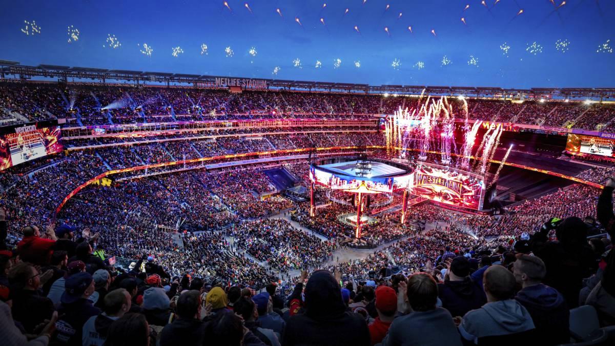 WrestleMania 35, segunda con mayor recaudación de siempre - AS.com