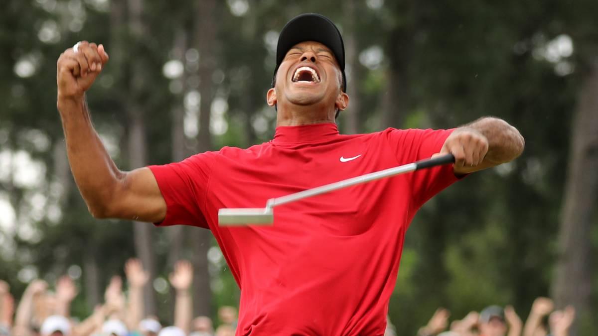 half off 3cfc7 0b6d5 Resumen y resultado del Masters de Augusta 2019: Tiger Woods ...